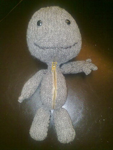 Knitted Sackboy