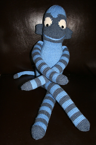 Cheeky Monkey Knitted