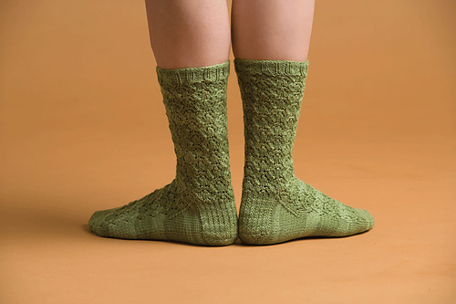 Glynis Sock by Cookie A.