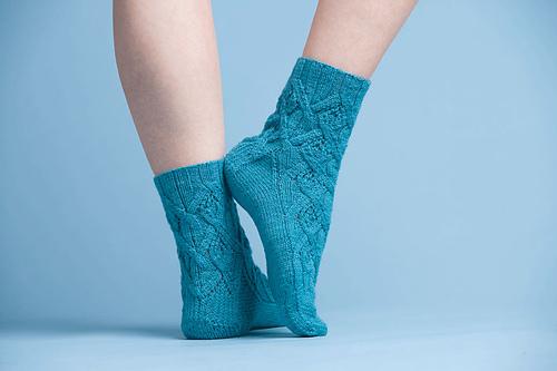 KAL Sock #3 - Eunice