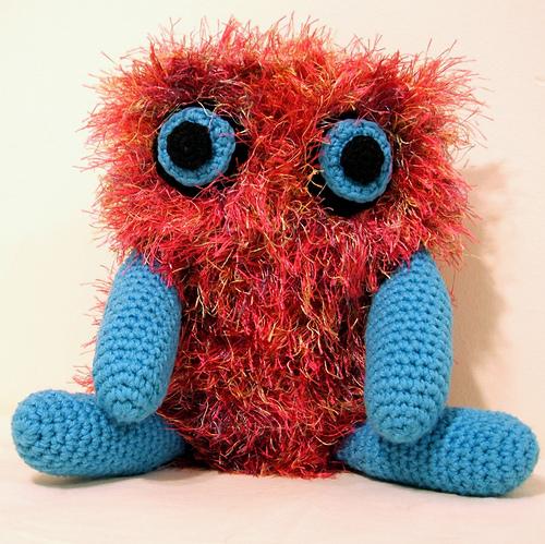 Befriendmantics Blog O Crafts Fuzz Monster The Second