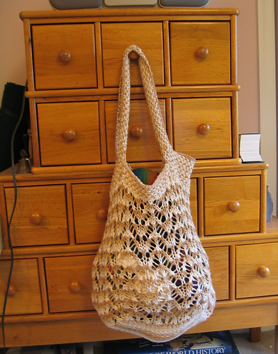 The Montavilla Market Tote Pattern Is Available For Free Knitpicks