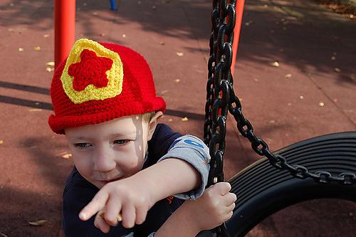 Fireman hat!