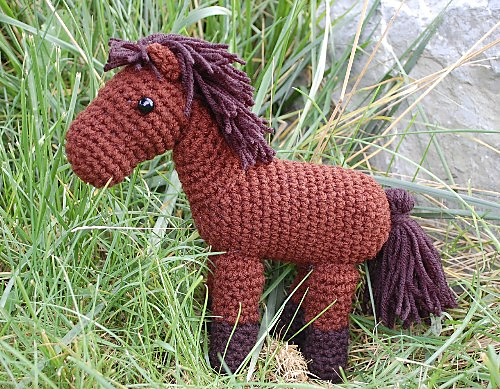 Neigh! A little horse!
