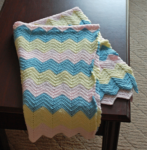 My baby's little blanket...