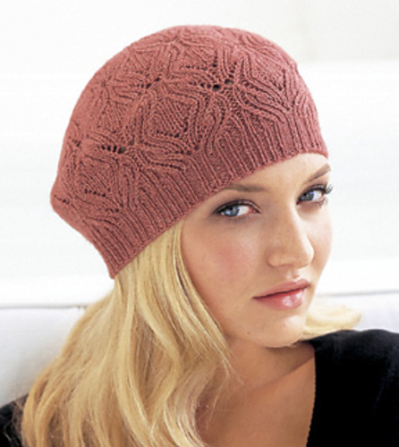 Free Knitting Patterns For Lace Hats : PATTERN FOR KNITTED HATS - FREE PATTERNS